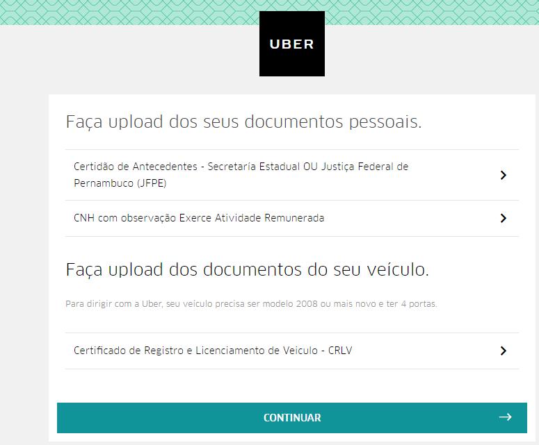 Como Ser Motorista da Uber 1