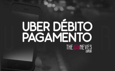 Uber Débito Pagamento