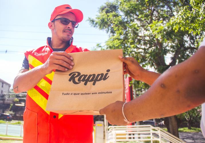 Salário entregador Rappi