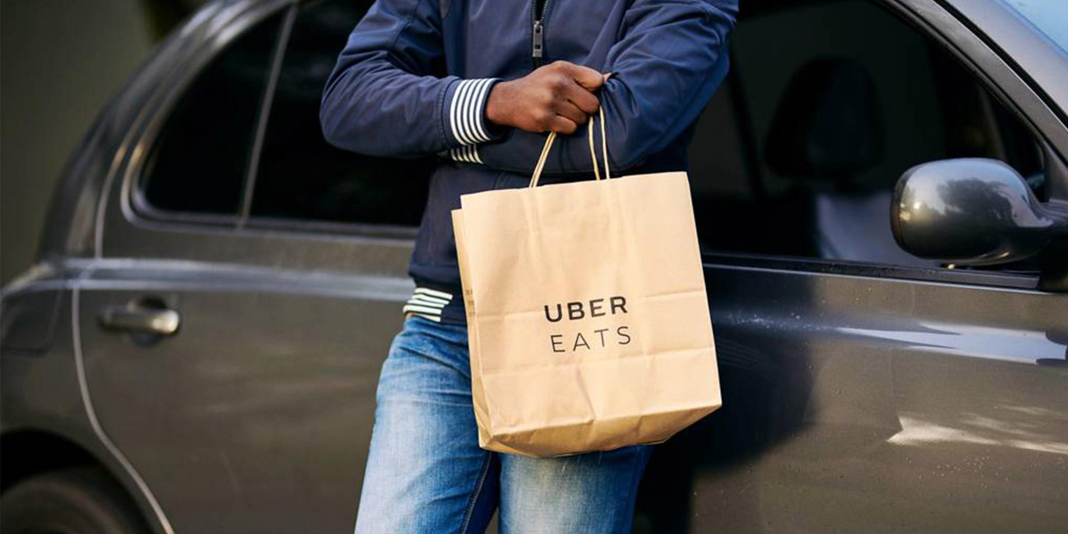 Uber Eats de Carro