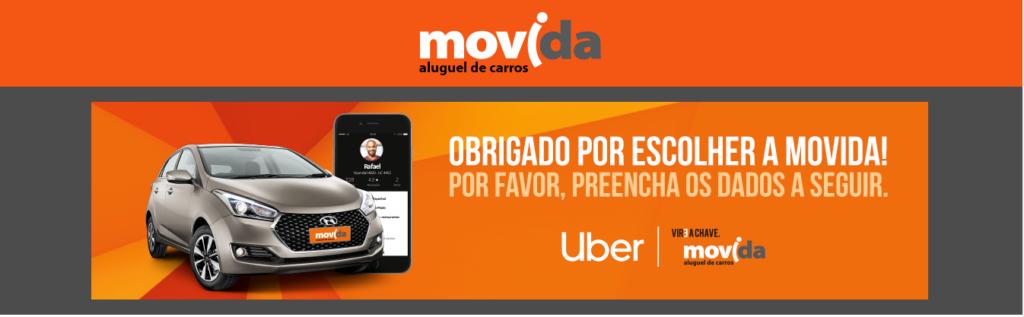 Alugar Carro para UBER em São Paulo
