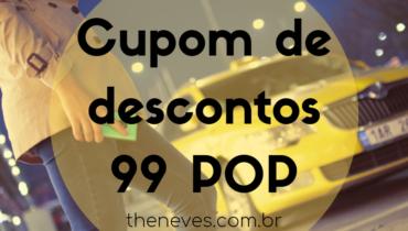 Cupom de Descontos 99 POP