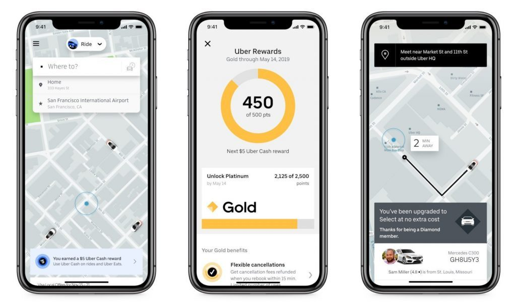 como funciona o uber pro