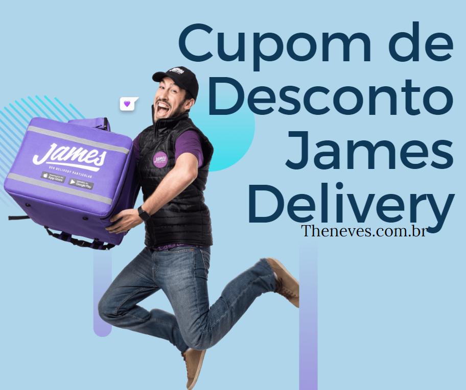 Cupom de Desconto James Delivery