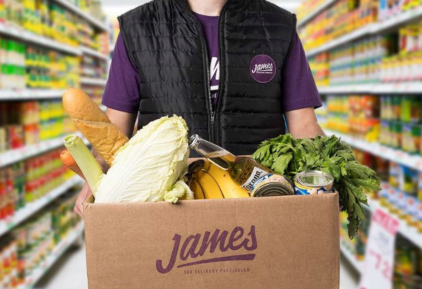 James Delivery Telefone