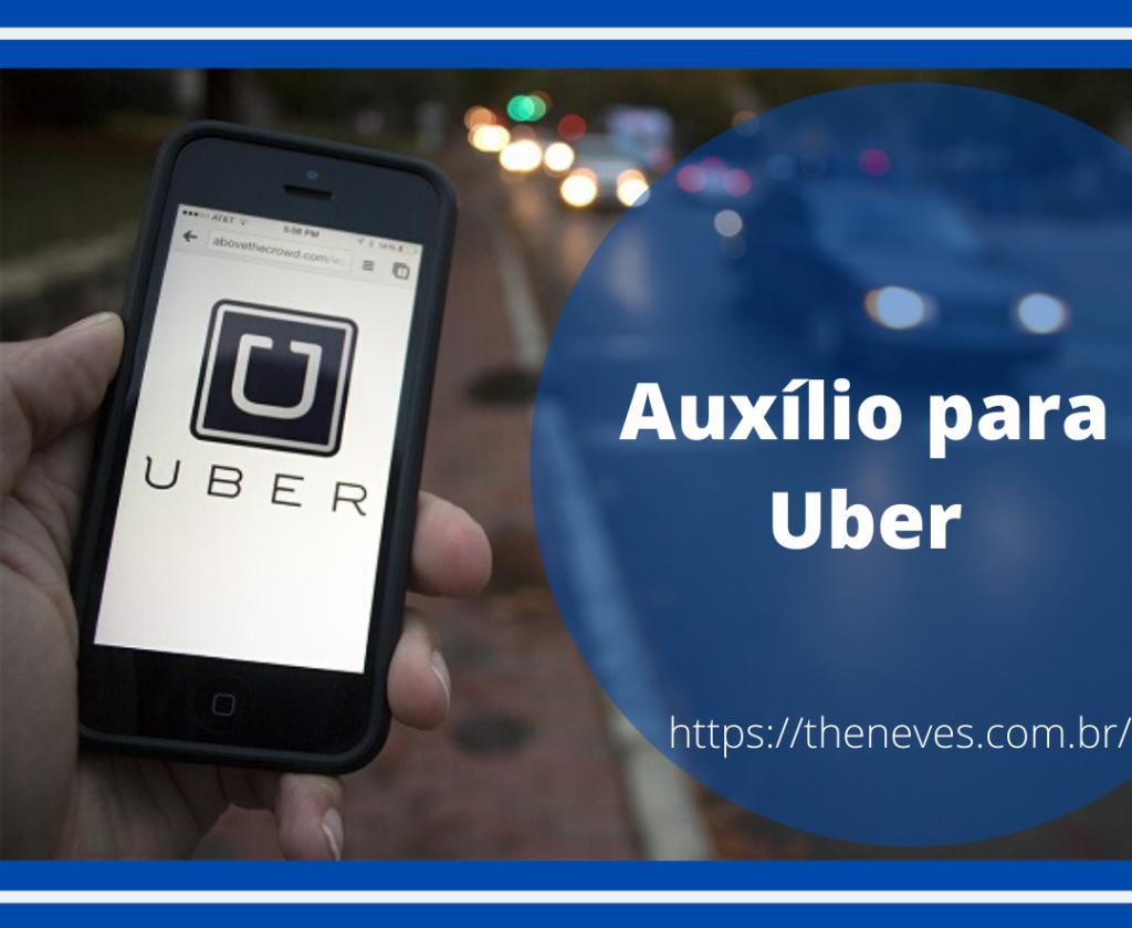 Auxílio para Uber